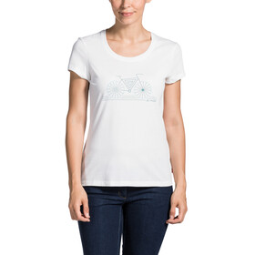 VAUDE Cyclist IV T-Shirt Women white